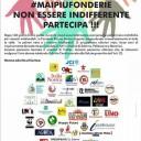 #MAIPIUFONDERIE – Partecipa, non essere indifferente!