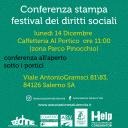 Conferenza stampa – Festival dei Diritti Sociali